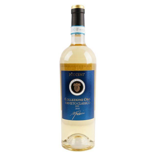 意大利彼奇尼经典奥维多黄金精选白葡萄酒