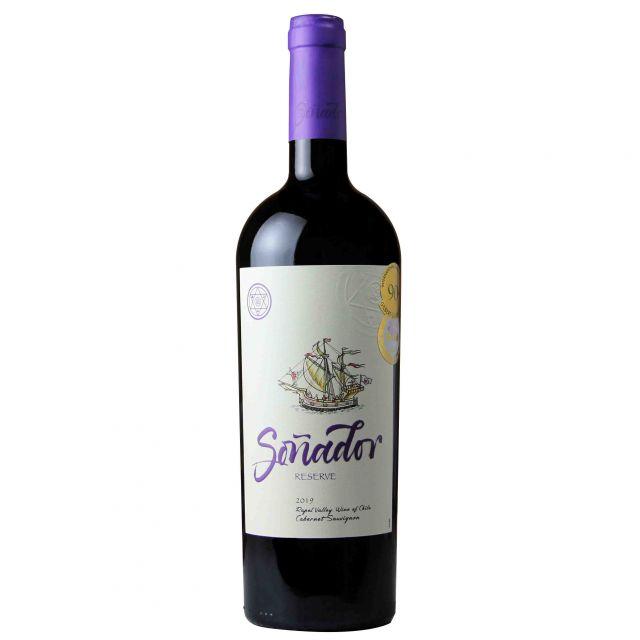 智利兰佩谷梦想家珍藏赤霞珠红葡萄酒红酒