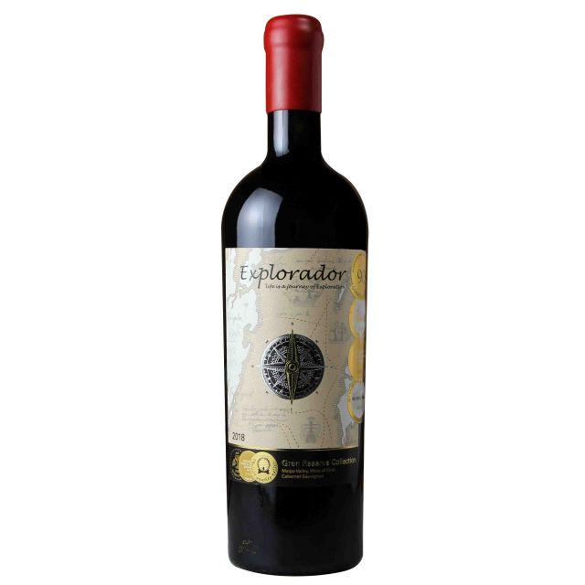 智利迈坡谷探索者特选珍藏赤霞珠红葡萄酒红酒