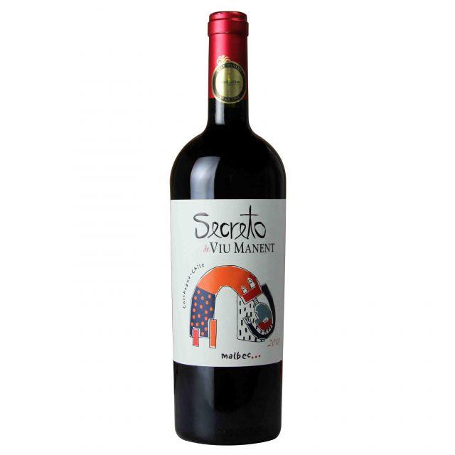 智利科尓查瓜谷威玛酒庄奥秘马尔贝克红葡萄酒红酒