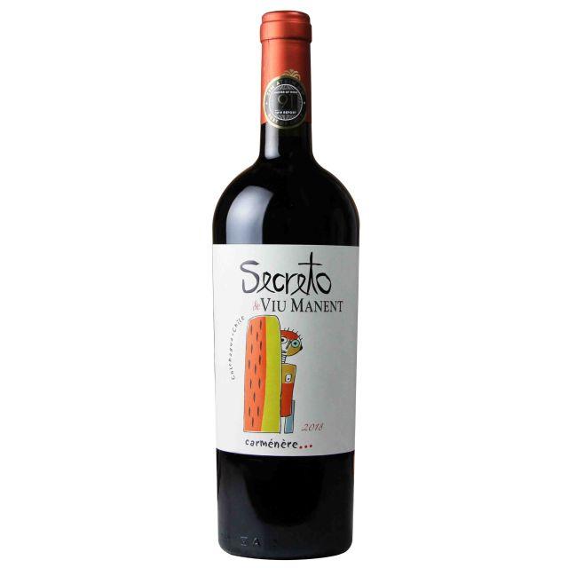 智利科尓查瓜谷威玛酒庄奥秘佳美娜红葡萄酒红酒