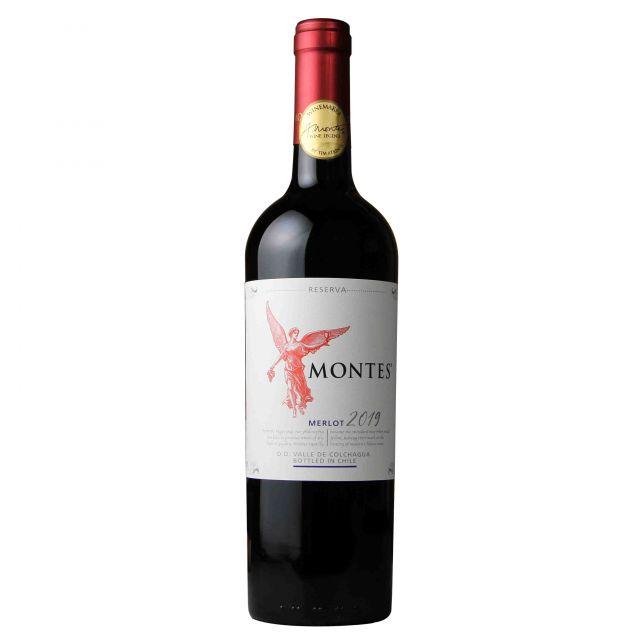 蒙特斯紅天使珍藏梅洛干紅葡萄酒