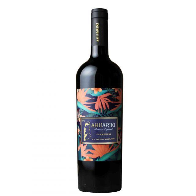 智利中央山谷酋長特別珍藏佳美娜紅葡萄酒