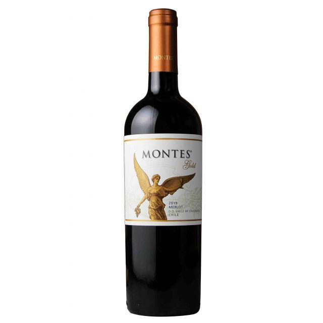 蒙特斯金天使精選梅洛干紅葡萄酒