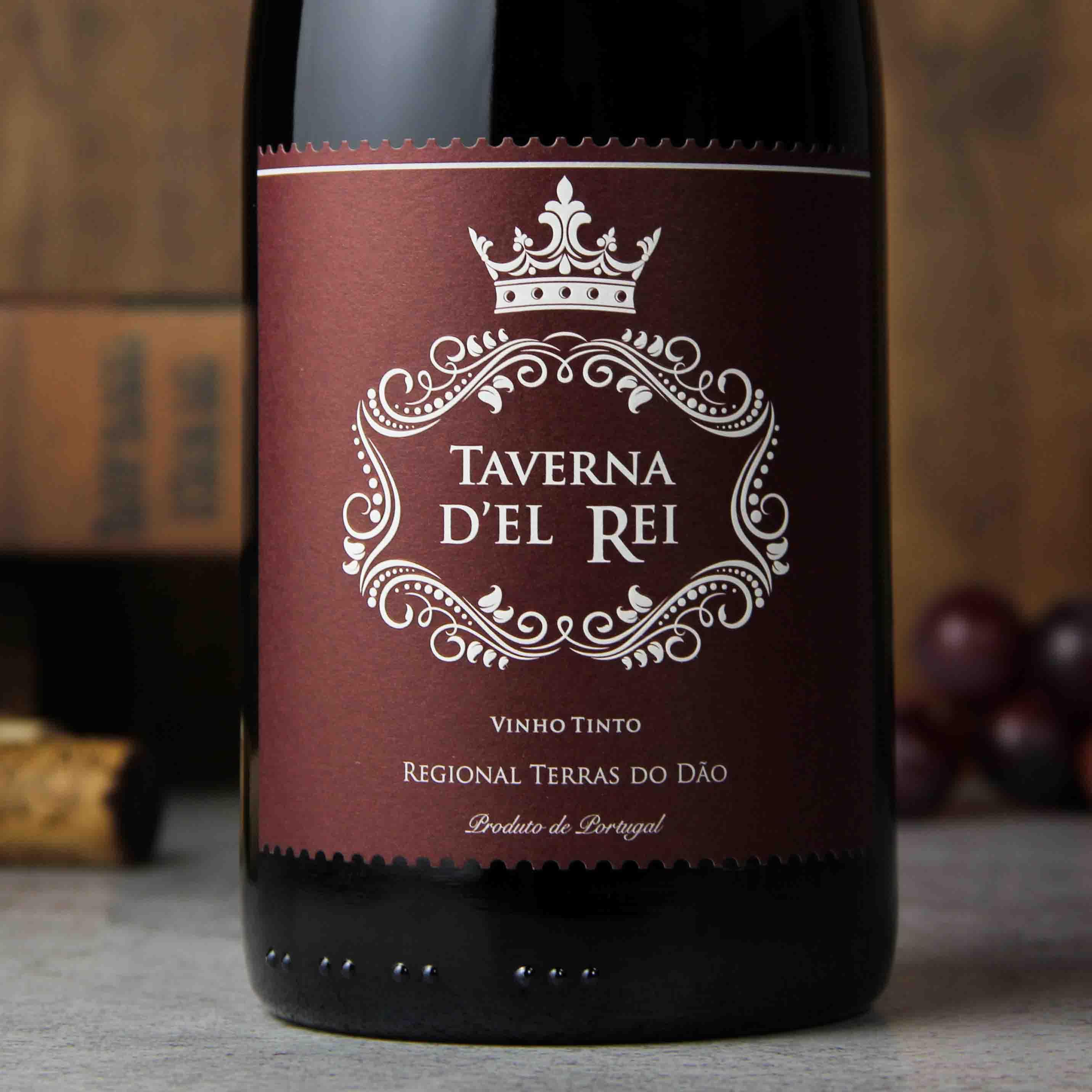 葡萄牙杜奥贝林皇宫村庄红葡萄酒