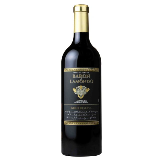 西班牙拉曼恰贝督斯格酒庄拉蒙多男爵丹魄特级珍藏干红葡萄酒