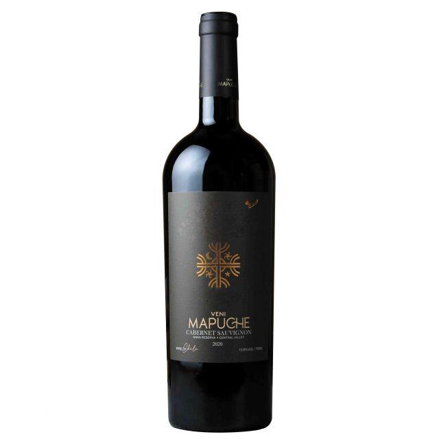 智利中央山谷都度酒莊馬普切神樹珍藏赤霞珠紅葡萄酒紅酒