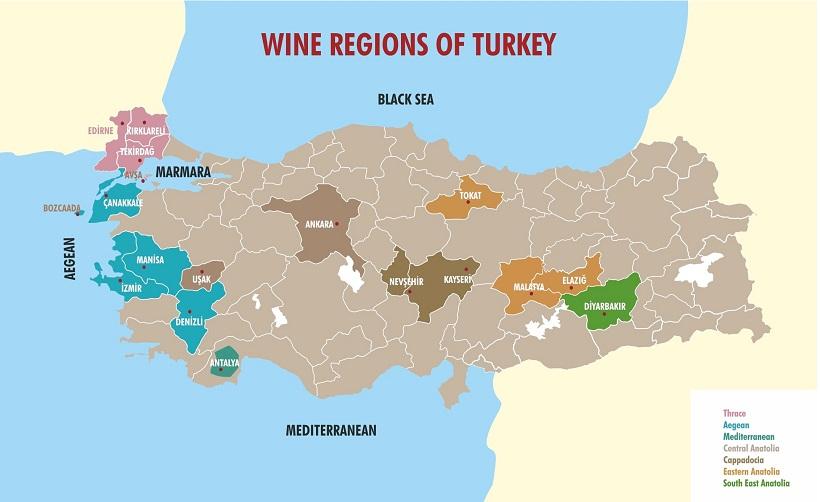 爱琴海葡萄酒产区