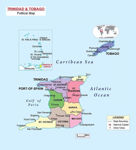 特里尼达和多巴哥