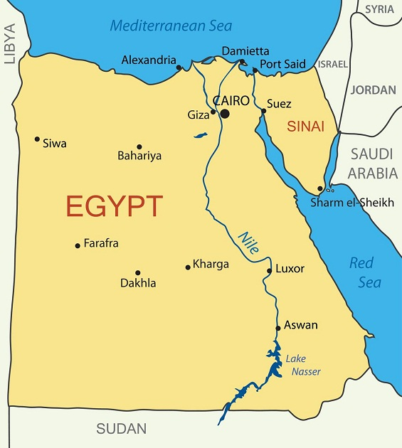 埃及葡萄酒产区