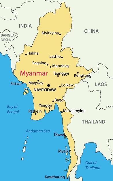 缅甸葡萄酒产区