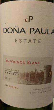 多娜保拉庄园长相思干白葡萄酒 2013