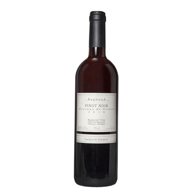瑞士瓦萊磅礴酒莊黑皮諾紅葡萄酒紅酒
