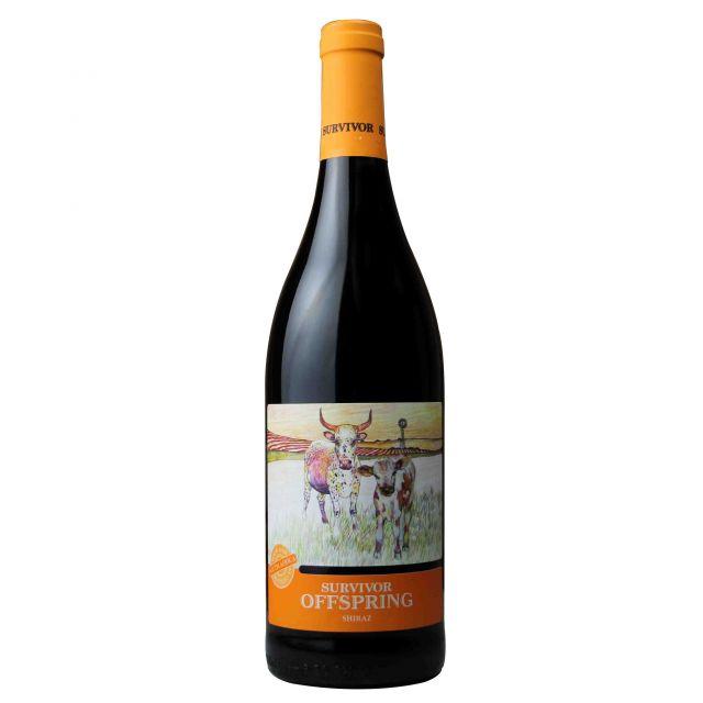 南非幸存者·小牛西拉干红葡萄酒