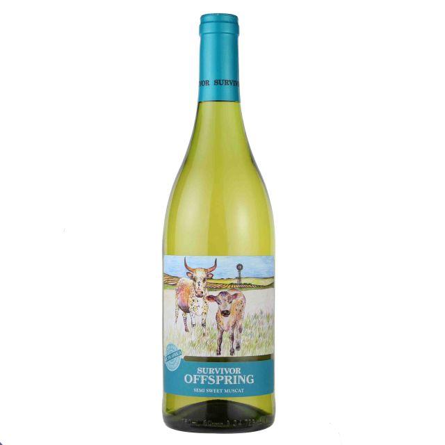 南非幸存者·小牛麝香半甜白葡萄酒