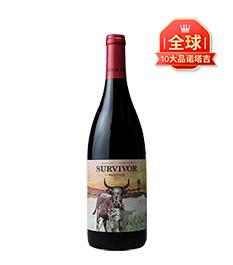 南非幸存者·大牛品诺塔吉干红葡萄酒