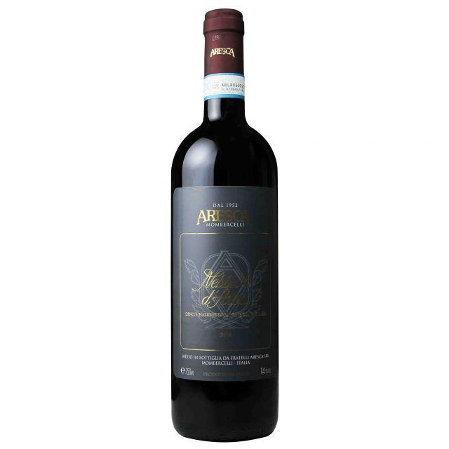 意大利皮埃蒙特ARESCA酒莊內比奧羅·阿爾巴紅葡萄酒紅酒