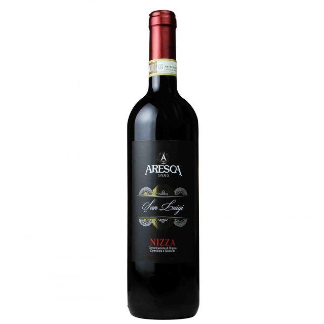 意大利皮埃蒙特ARESCA酒莊尼扎·圣路易吉紅葡萄酒紅酒
