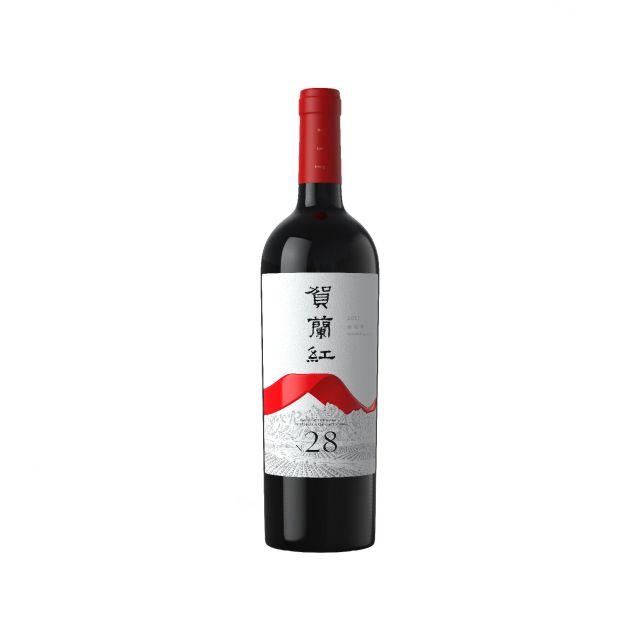 中國寧夏產區西鴿賀蘭紅N.28葡萄酒紅酒