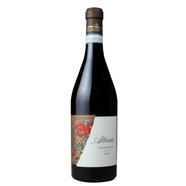 意大利皮埃爾特蒙密友紅葡萄酒紅酒