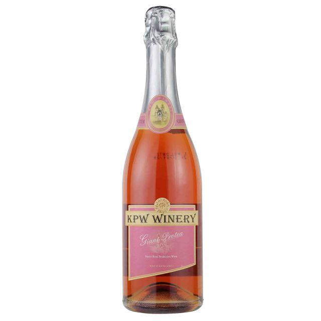 南非西开普乐诗登酒庄凯蒂桃红气泡葡萄酒
