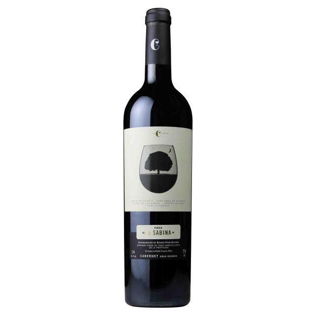 西班牙赫石单一园产区莎贝娜赤霞珠珍藏陈酿干红葡萄酒红酒
