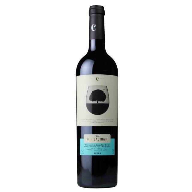 西班牙赫石单一园产区莎贝娜西拉干红葡萄酒红酒