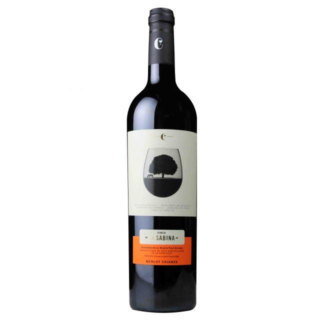 西班牙赫石单一园产区莎贝娜梅洛佳酿干红葡萄酒红酒