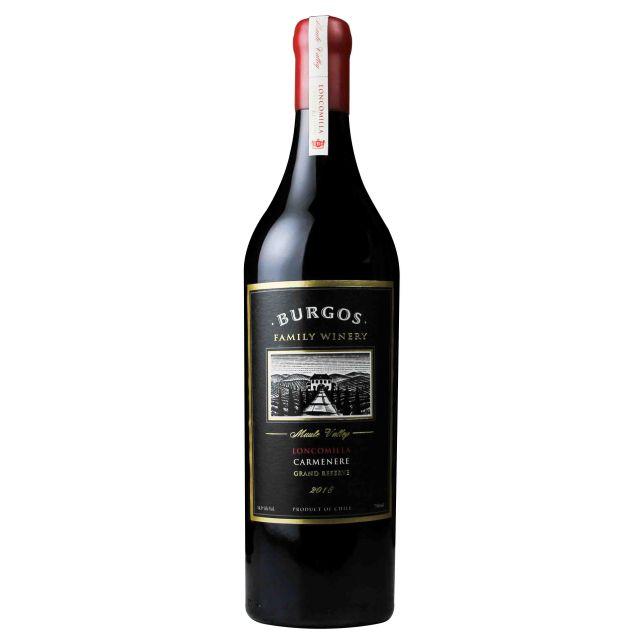 智利伯格斯酒莊特級珍藏佳美娜紅葡萄酒