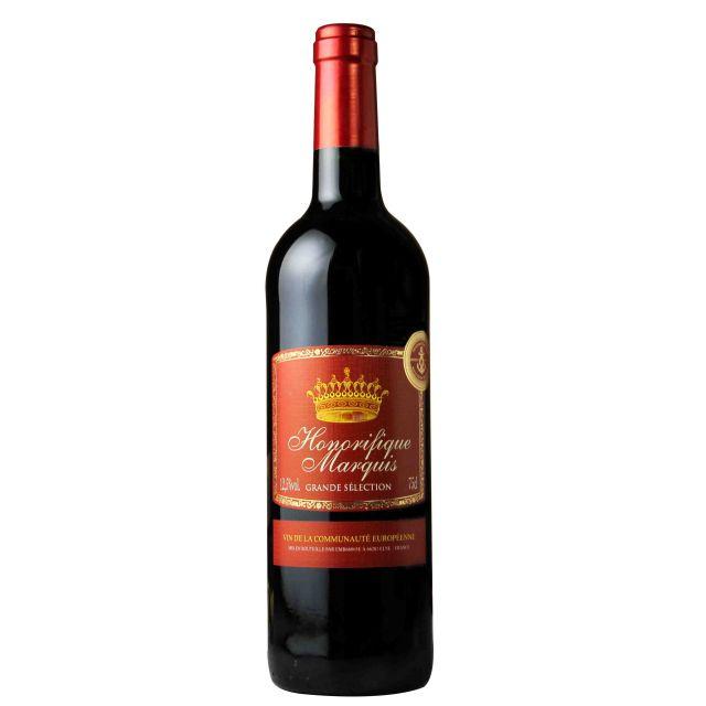 法國侯爵紅葡萄酒紅酒