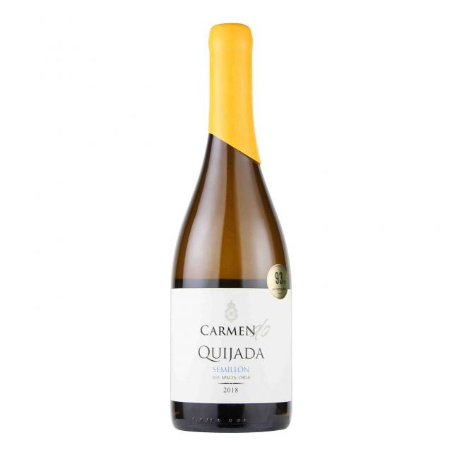 智利科尔查瓜山谷卡乐门产区系列赛美容白葡萄酒