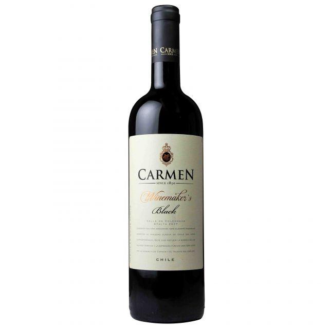 智利科尔查瓜山谷卡乐门酿酒师系列黑牌红葡萄酒
