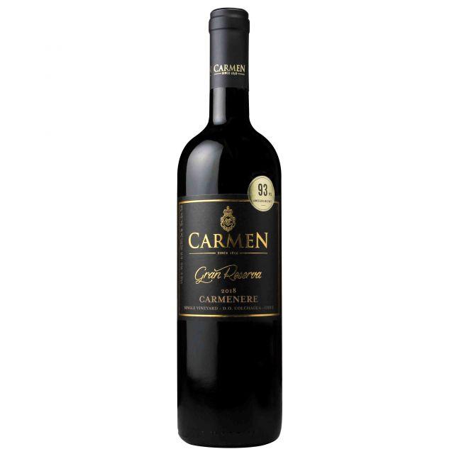 智利科尔查瓜山谷卡乐门格兰珍藏佳美娜红葡萄酒