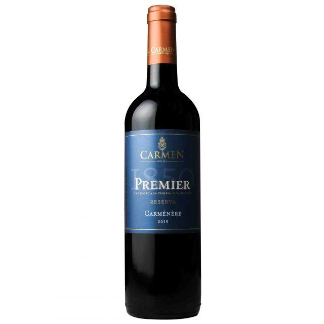 智利科尔查瓜山谷卡乐门先驱者系列佳美娜红葡萄酒