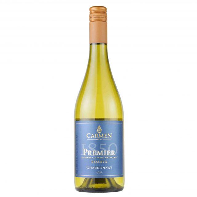 智利卡萨布兰卡谷卡乐门先驱者系列霞多丽白葡萄酒