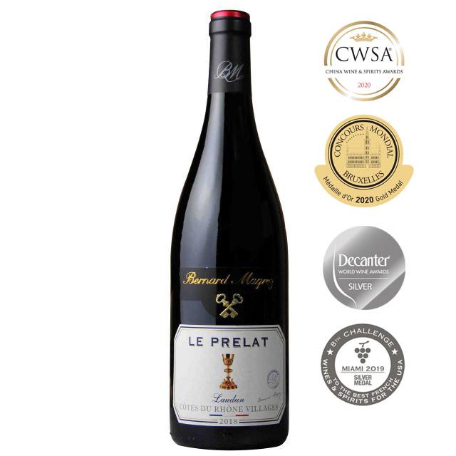 法國羅納河谷貝瑪格雷大主教紅葡萄酒