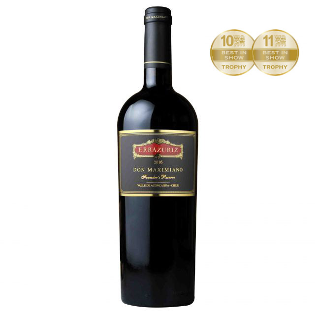 智利阿空加瓜谷伊拉蘇馬克西米諾干紅葡萄酒