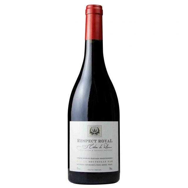 法国罗纳河谷皇家-金樽红葡萄酒
