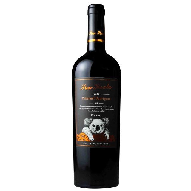 智利中央山谷陽光考拉A6干紅葡萄酒