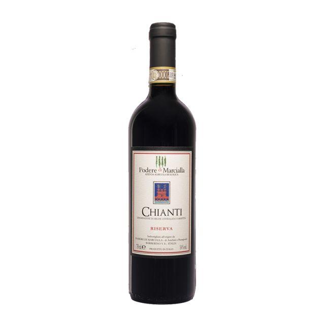 意大利托斯卡纳玛切拉庄园基安蒂珍藏红葡萄酒红酒