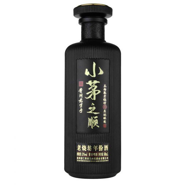 中国贵州小茅之顺·黑酱香型白酒
