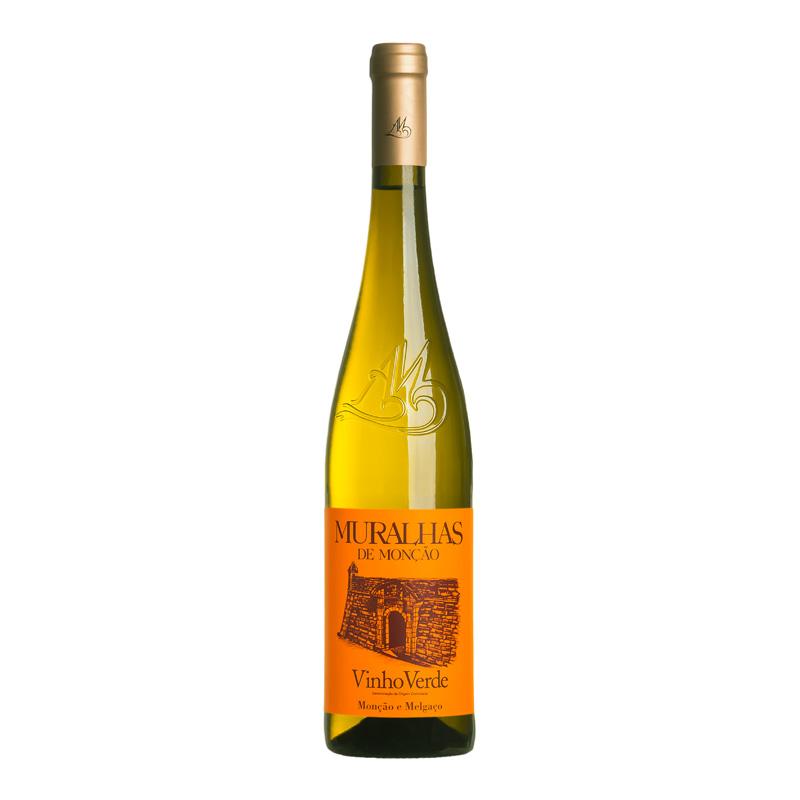 葡萄牙蒙桑镇古城墙 特色绿酒 白葡萄酒