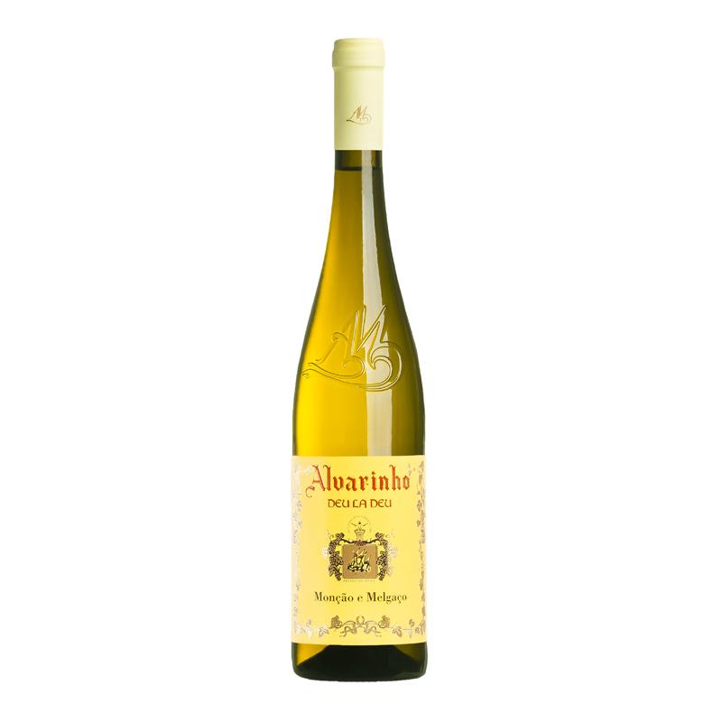 葡萄牙蒙桑镇DEU LA DEU 阿尔巴利诺白葡萄酒