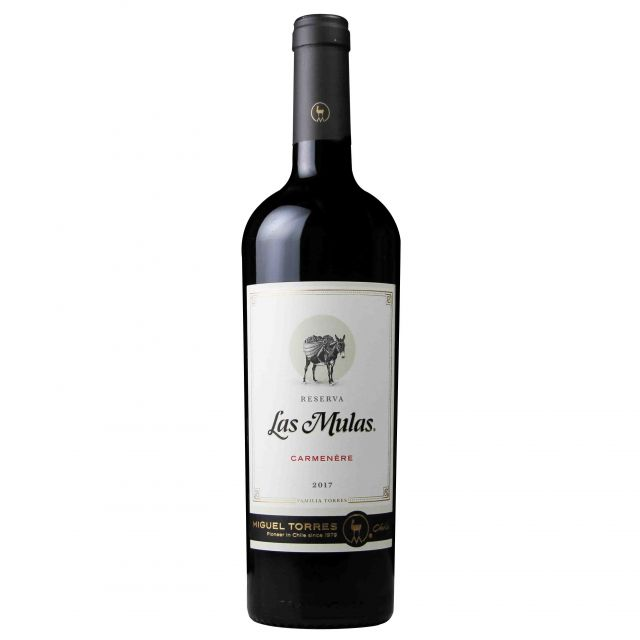 智利中央山谷米高桃乐丝·勒慕斯珍藏佳美娜红葡萄酒红酒