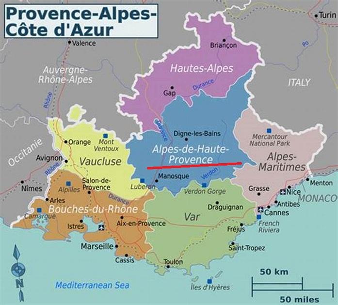 上普罗旺斯阿尔卑斯山