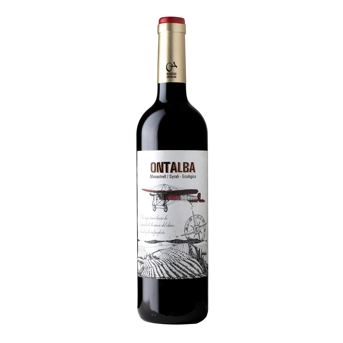 西班牙Ontalba Monastrell & Syrah干紅葡萄酒