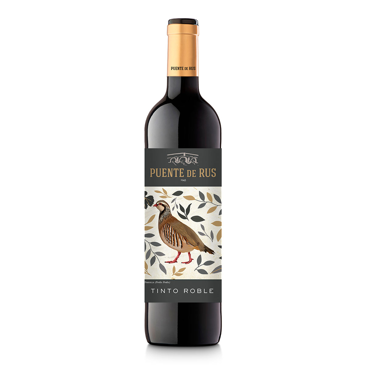 西班牙Puentes de Rus Tinto Roble干红葡萄酒