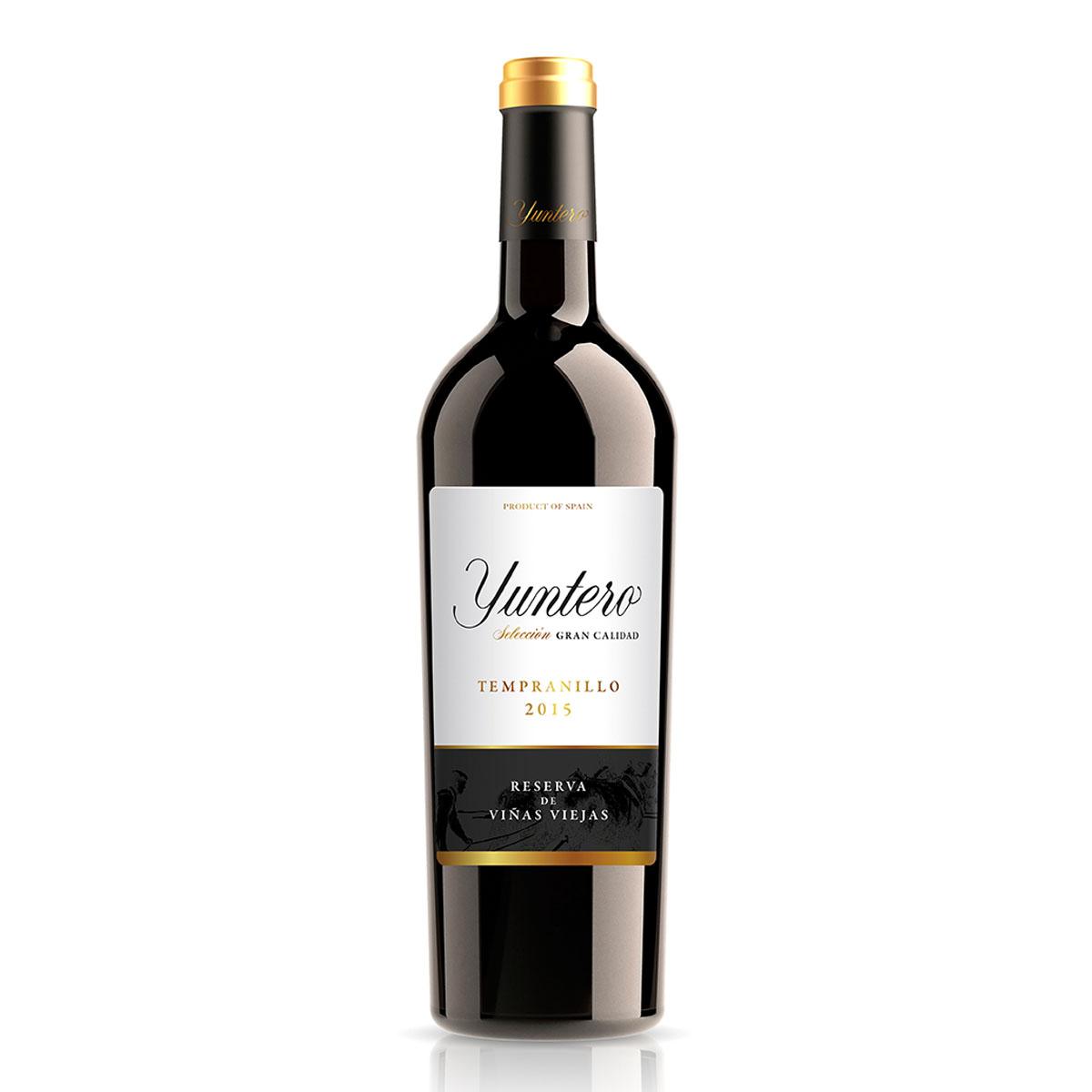 西班牙YUNTERO RESERVA 优雅丹宁干红葡萄酒