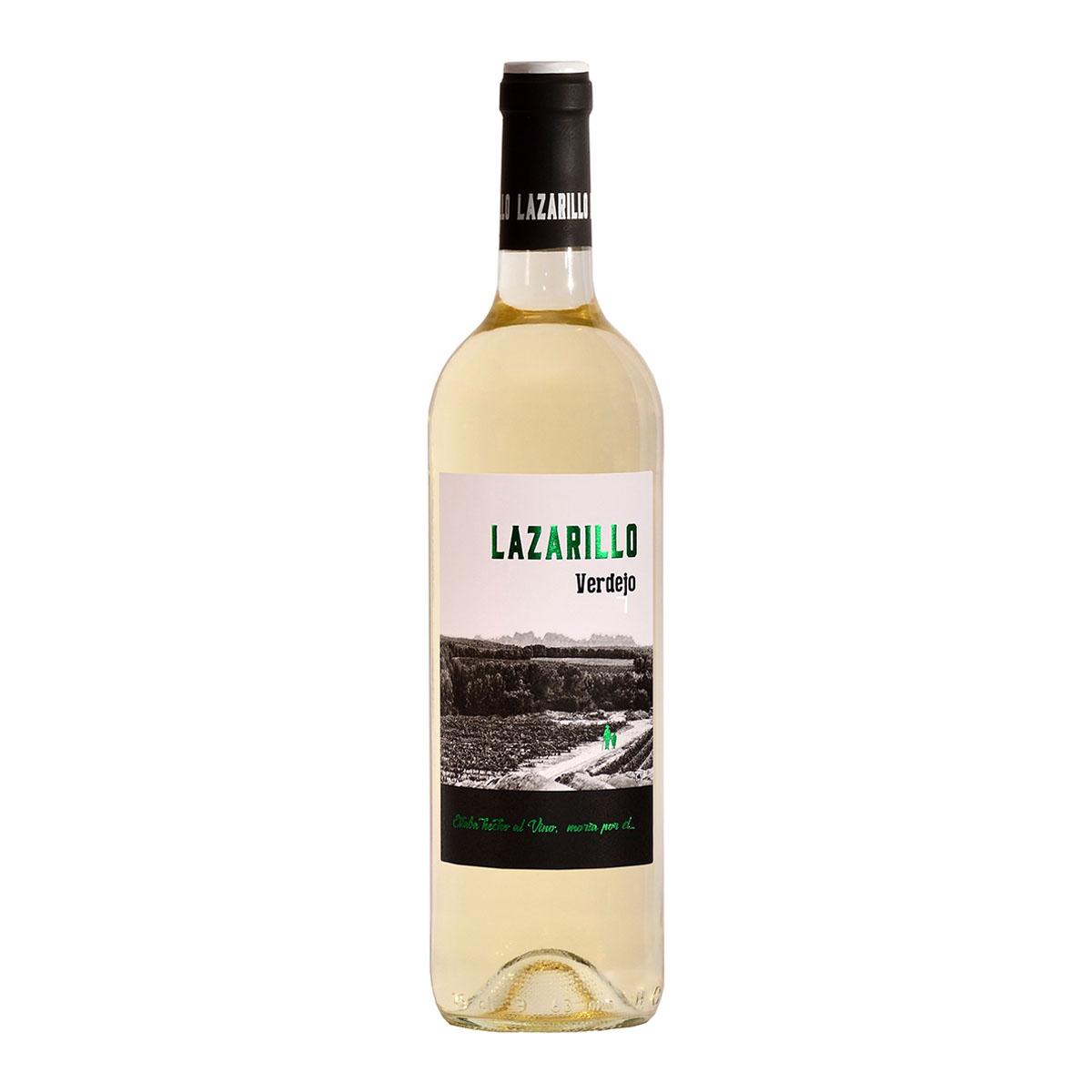 西班牙LAZARILLO新鮮弗德喬干白葡萄酒