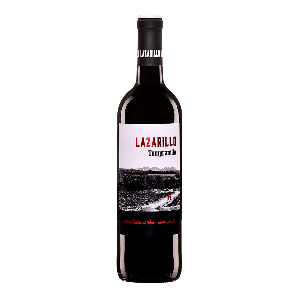 西班牙LAZARILLO優雅果味丹魄干紅葡萄酒
